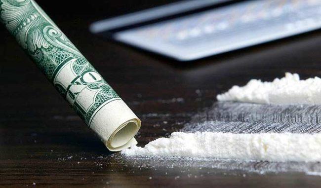Кокаин через доллар