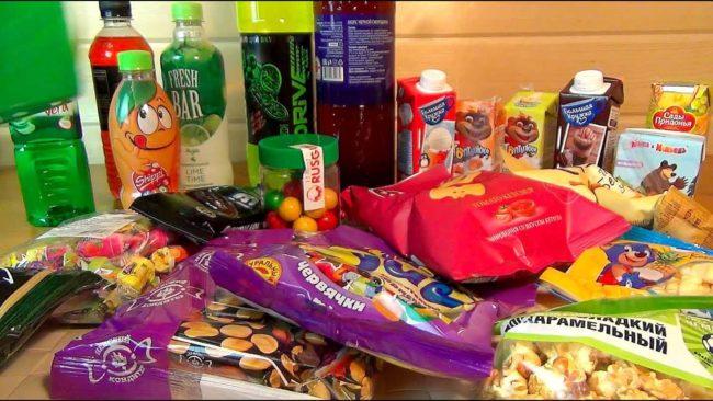 Химические продукты питания